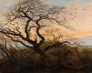 L'Arbre aux corbeaux (Caspar David Friedrich) - Muzeo.com