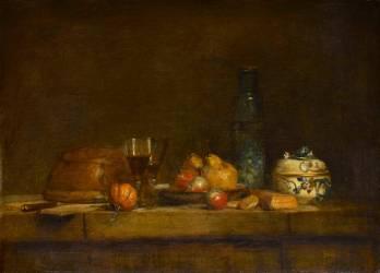 Le Bocal d'olives (Jean Siméon Chardin) - Muzeo.com