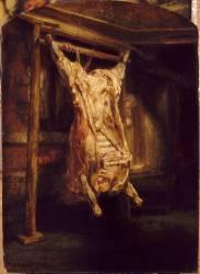 Le Boeuf écorché (Rembrandt) - Muzeo.com