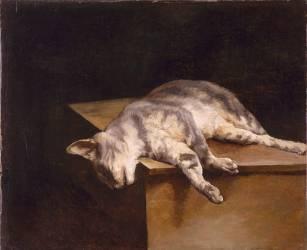 Le chat mort (Théodore Géricault) - Muzeo.com