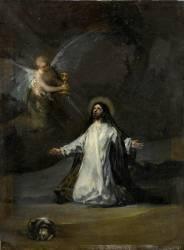 Le Christ au jardin des oliviers ( Francisco De Goya) - Muzeo.com