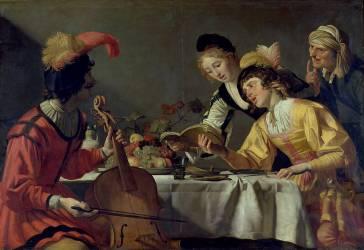 Le Concert (Gerrit Van Honthorst) - Muzeo.com