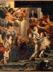 Le Couronnement de Marie de Médicis à Saint-Denis, le 13 mai 1610 (Pierre-Paul Rubens) - Muzeo.com