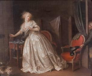 Le départ précipité (Louis-Léopold Boilly) - Muzeo.com