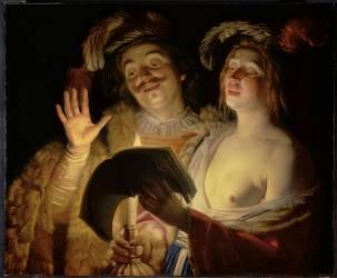 Le Duo (Gerrit Van Honthorst) - Muzeo.com
