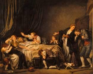 Le Fils puni (Jean-Baptiste Greuze) - Muzeo.com