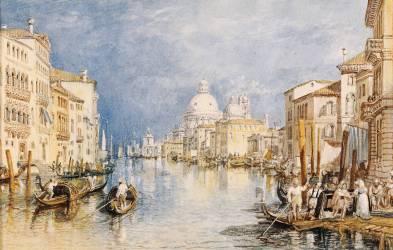 Le Grand Canal, Venise (Joseph Mallord William Turner) - Muzeo.com