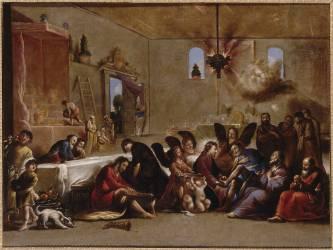 Le Lavement des pieds (Claude Vignon) - Muzeo.com