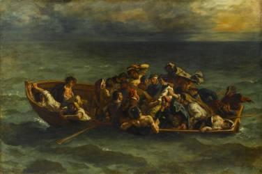 Le Naufrage de Don Juan (Eugène Delacroix) - Muzeo.com