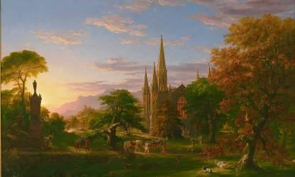 Le Retour (Thomas Cole) - Muzeo.com
