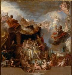 Le Roi gouverne par lui-même (Charles Le Brun) - Muzeo.com