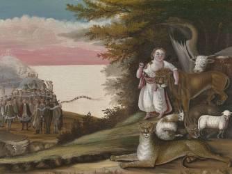 Le royaume pacifique (Edward Hicks) - Muzeo.com