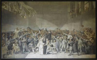 Le serment du Jeu de Paume, 20 juin 1789 (Luc Olivier Merson) - Muzeo.com
