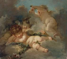 Le sommeil des amours (anonyme) - Muzeo.com