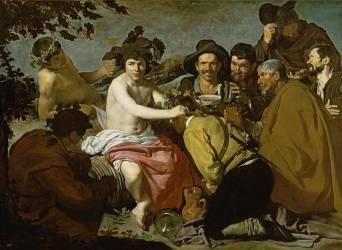 Le Triomphe de Bacchus (Diego Vélasquez) - Muzeo.com
