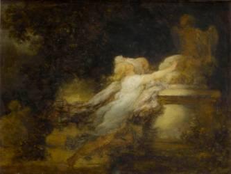 Le Voeu à l'Amour (Jean-Honoré Fragonard) - Muzeo.com