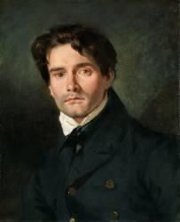 Léon Riesener, peintre cousin de l'artiste (Eugène Delacroix) - Muzeo.com
