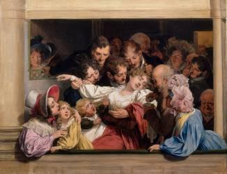 L'effet du mélodrame (Louis-Léopold Boilly) - Muzeo.com