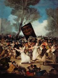 L'Enterrement de la sardine (Francisco De Goya) - Muzeo.com