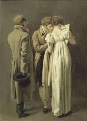 Les amateurs d'estampes (Louis Léopold Boilly) - Muzeo.com