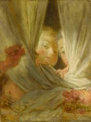 Les Curieuses (Jean-Honoré Fragonard) - Muzeo.com