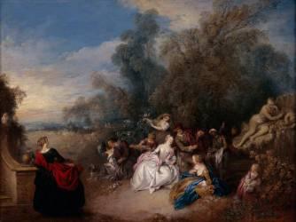 Les Délassements de la campagne (Pater Jean-Baptiste) - Muzeo.com