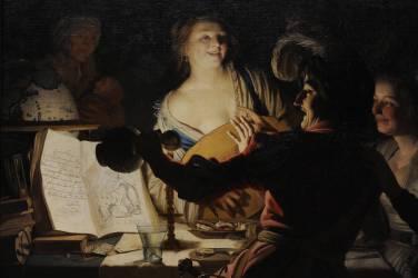 L'Etudiant débauché (Gerrit Van Honthorst) - Muzeo.com