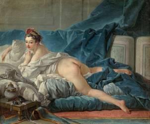 L'odalisque (François Boucher) - Muzeo.com