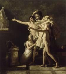 L'Offrande à Esculape (Guérin Pierre-Narcisse) - Muzeo.com