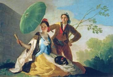L'ombrelle (Francisco de Goya) - Muzeo.com