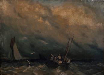 Marine (Richard Parkes Bonington) - Muzeo.com