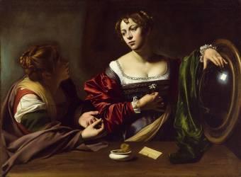 Marthe et Marie-Madeleine (Le Caravage) - Muzeo.com