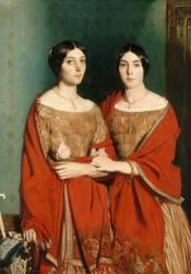 Mesdemoiselles Chassériau dit les deux soeurs (Chasseriau Théodore) - Muzeo.com