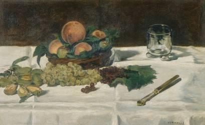 Nature morte : fruits sur une table (Edouard Manet) - Muzeo.com