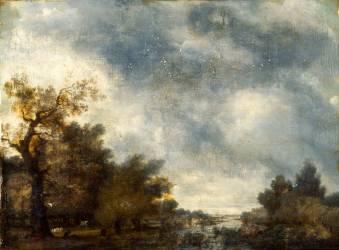 Paysage (Fragonard Jean-Honoré) - Muzeo.com