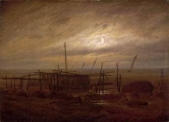 Paysage de bord de mer (Friedrich Caspar David) - Muzeo.com