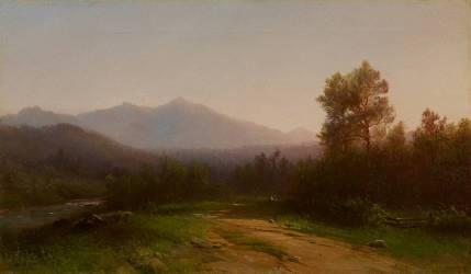 Paysage de Hudson River (Thomas Cole) - Muzeo.com