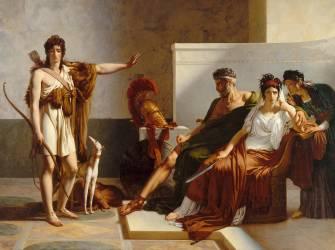 Phèdre et Hippolyte (Guérin Pierre-Narcisse) - Muzeo.com