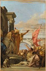 Pilate présentant le Christ à la foule des Juifs : Ecce Homo (Giambattista Tiepolo) - Muzeo.com