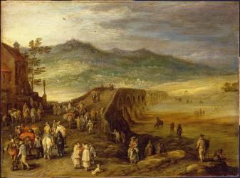 Pont de Talavera (Jan Brueghel l'Ancien) - Muzeo.com