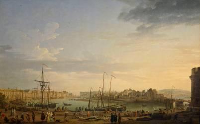 Port de Dieppe (Joseph Vernet) - Muzeo.com