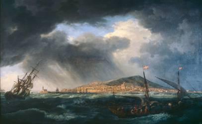 Port de Sète (Joseph Vernet) - Muzeo.com