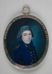 Portrait d'Alexandre Senarmont (Anonyme) - Muzeo.com