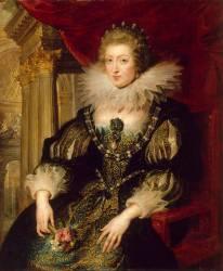 Portrait d'Anne d'Autriche (1601-1666) (Pierre-Paul Rubens) - Muzeo.com