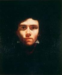 Portrait de Delacroix, peintre (Géricault Théodore) - Muzeo.com