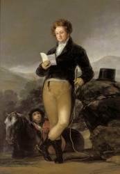 Portrait de Don Francisco de Borja Tellez Giron, dixième duc d'Osuna (Francisco De Goya) - Muzeo.com