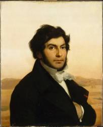 Portrait de Jean-François Champollion, égyptologue (Cogniet Léon) - Muzeo.com