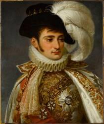 Portrait de Jérôme Bonaparte, roi de Westphalie (1784-1860) (Antoine-Jean Gros) - Muzeo.com