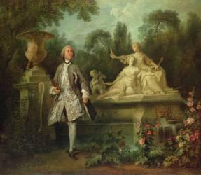 Portrait de l'acteur Grandval (Nicolas Lancret) - Muzeo.com