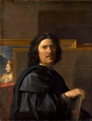 Portrait de l'artiste (Poussin Nicolas) - Muzeo.com
